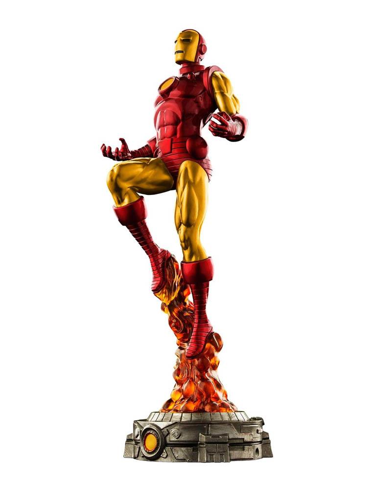 figurka classic iron man marvel diorama 6