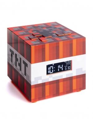 gadzet budzik minecraft tnt alarm clock paladone 3