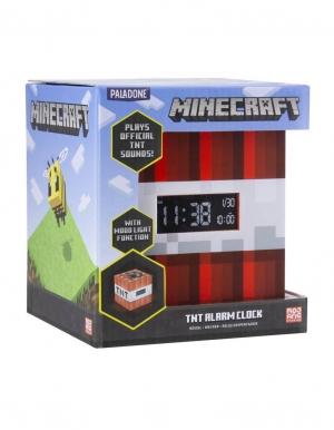 gadzet budzik minecraft tnt alarm clock paladone