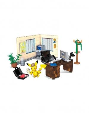 klocki mega construx biuro detektywa pikachu