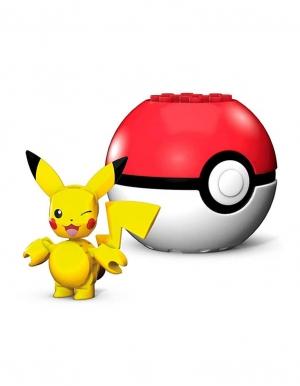 klocki mega construx pikachu pokeball 3