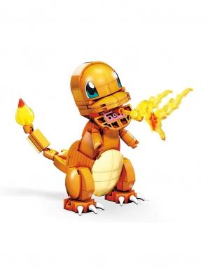 male klocki pokemon charmander mega construx