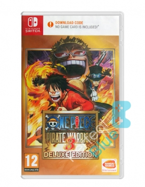 one piece pirate warriors 3 deluxe edition gra nintendo switch przod logo