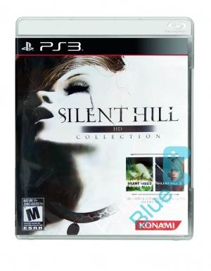 silent hill hd collection gra ps3 przod logo