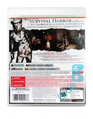 silent hill hd collection gra ps3 tyl logo