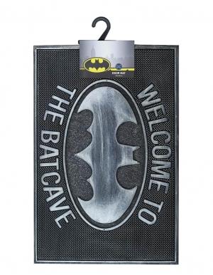 wycieraczka pod drzwi door mat gumowa welcome to the batcave batman