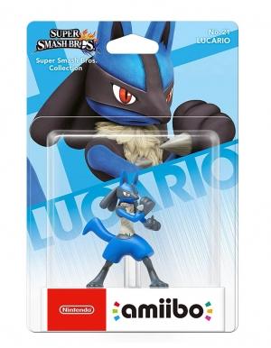 amiibo figurka super smash bros collection lucario no 21 nintendo switch