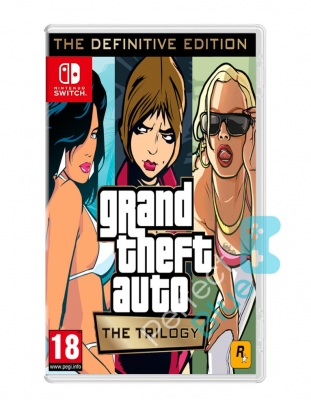 gta grand theft auto trilogy collection the definitive edition gra nintendo switch