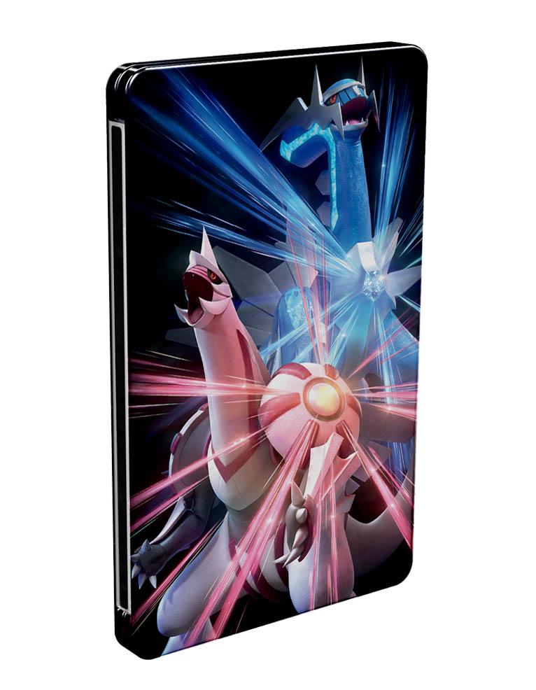 pokemon brilliant diamond gra nintendo switch steelbook 3
