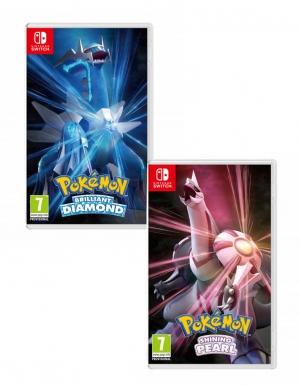 pokemon brilliant diamond shining pearl dual pack gra nintendo switch